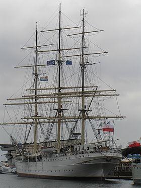 Dar Pomorza à Gdynia