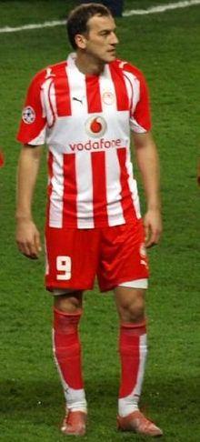 Kovacevic en 2008, como jugador del Olympiacos