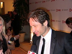 David Duchovny Golden Globe 2009 afterparty.jpg