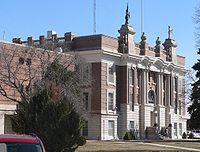Dawson County, Nebraska courthouse from NW 2.JPG