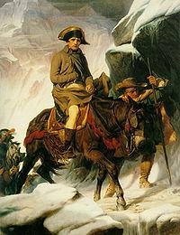Image illustrative de l'article Bonaparte franchissant les Alpes