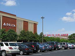 Delta Airlines Headquarters in Atlanta.