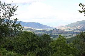 La plaine dans laquelle se trouve la municipalité