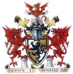 Arms of Denbighshire County Council