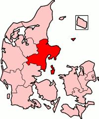 Aarhus County in Denmark