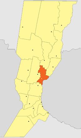 Localización de Sauce Viejo