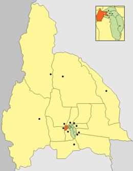 Ubicación de Rivadavia
