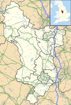 Darley Dale is located in Derbyshire