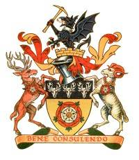 Arms of Derbyshire County Council