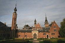 Le château Sterckshof (Musée de l'argenterie)