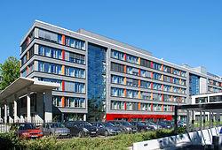 Quartier général du Deutscher Wetterdienst à Offenbach-sur-le-Main