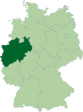 Deutschland Lage von Nordrhein-Westfalen.svg