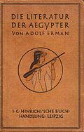 Die Literatur der Ägypter Erman v 00.jpg