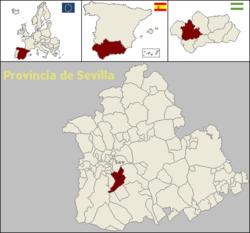 Localisation de Dos Hermanas