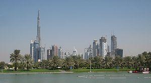 Downtown Burj Dubai and Business Bay, seen from Safa Park.jpg