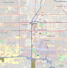 LAS is located in Downtown Las Vegas