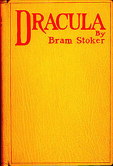Dracula by Bram Stoker, 1st edition cover, Archibald Constable and Company, 1897