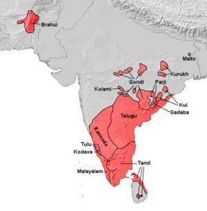 Dravidische Sprachen.png