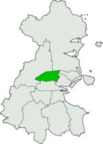 Dublin North West Dil ireann constituency.png