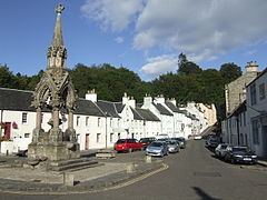Dunkeld Market Place and Fountain - geograph.org.uk - 633061.jpg