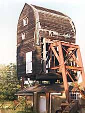 The mill under restoration