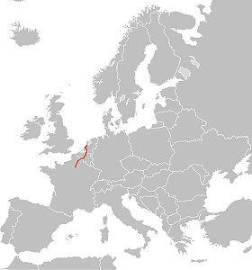 Itinéraire de la route européenne 19
