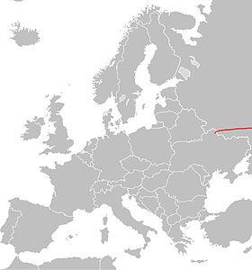 Itinéraire de la route européenne 38