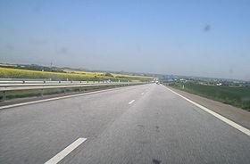 La E20 près de Landskrona