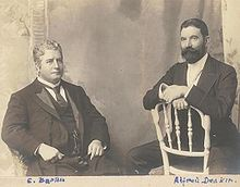 Edmund Barton and Alfred Deakin