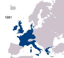 Avrupa topluluğu haritası (1981)
