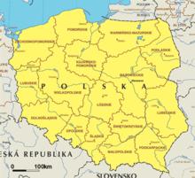 Woiwodschappen van Polen