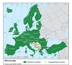 Location of EEA