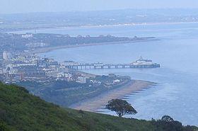 Eastbourne vue du sud