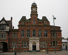 Former Eccles town hall