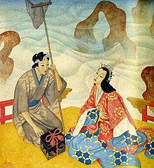 Urashima Taro by Edmund Dulac (1916)