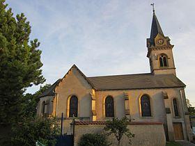Église paroissiale Saint-Vanne.