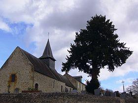 Église Saint-Laurent et if funéraire