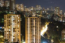 El Poblado en la Noche-Medellin.jpg
