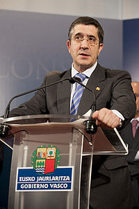 El lehendakari Patxi Lpez (4 de mayo de 2010).jpg