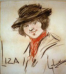 Eliza Doolittle by George Luks 1908.jpg