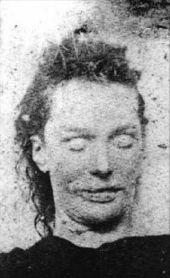 Elizabeth Stride, tercera víctima canónica del Destripador.