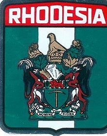 blason de Rhodésie (1968-1979)