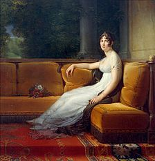 Napoleon's first wife, Joséphine, Empress of the French, painted by François Gérard, 1801