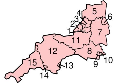 Localisation des subdivisions