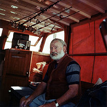  Photo d'Ernest Hemingway.