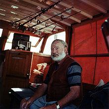 Photo d'Ernest Hemingway.