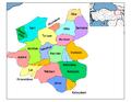 Districts of Erzurum