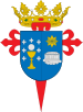 Blason municipal de Saint-Jacques-de-CompostelleSantiago de Compostela