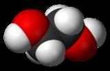 Structure de l'éthylène glycol