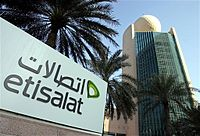 Etisalat Tower in Dubai.